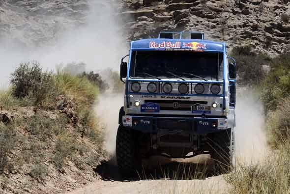 La competencia en la categoría de los camiones es peculiarmente c...