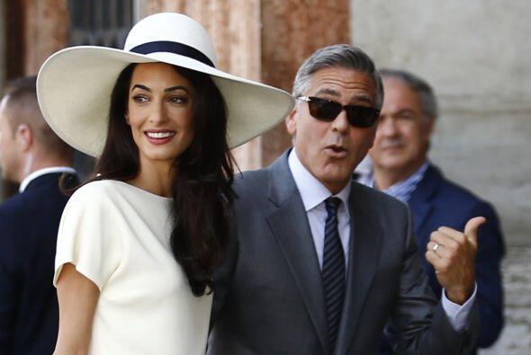 Pero Clooney fue lo suficientemente inteligente para dar exclusividad, c...