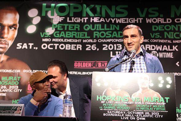 Karo Murat dijo estar emocionado de pelear por primera vez en Estados Un...