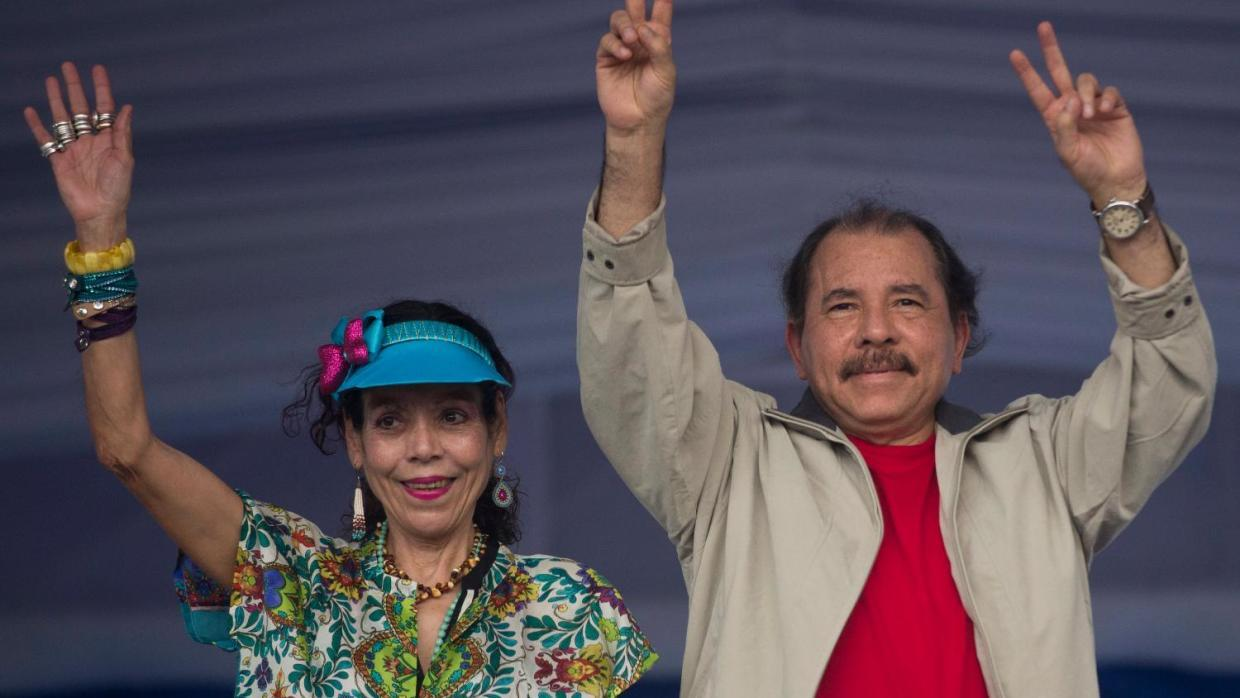 Nicaragua's president chose his wife as his running mate ahead of the No...