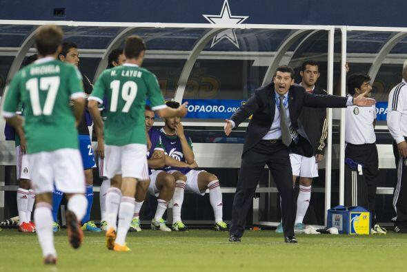 21.- En la Copa Oro 2013 el nivel de la Selección Mexicana dej&oa...