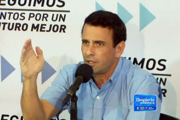 La oposición venezolana impugnó el jueves ante el Tribunal...