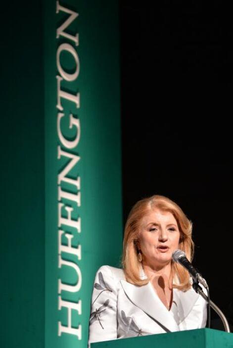 Arianna Huffington: La fundadora del sitio Web The Huffington Post es or...