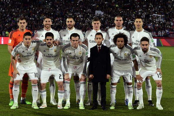 Real Madrid enfrentó a San Lorenzo de Almagro en la final del mundial de...