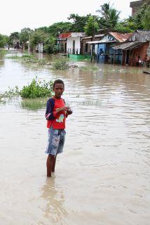 Colombia, Centroamérica y una región del sur de México sufren por las ll...
