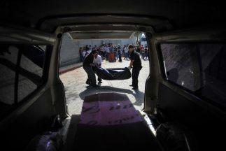 Agentes de seguridad hallaron os cuerpos baleados de siete hombres acusa...