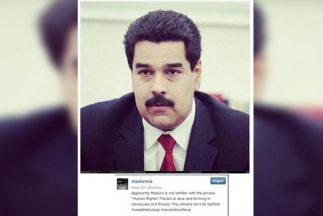 Éste es el mensaje que Madonna publicó sobre Nicolás Maduro en su cuenta...