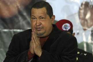 Chávez agradeció al presidente cubano Raúl Castro y al líder de la revol...