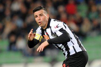 Di Natale celebra su gol contra Lazio.