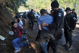 México reconoció los esfuerzos de la policia de Guatemala para combatir...