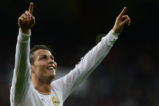 El futbolista portuguésCristiano Ronaldo.