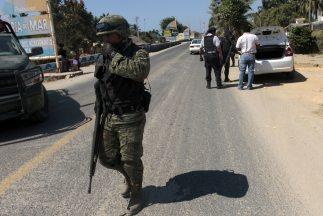 Hechos de violencia en México.