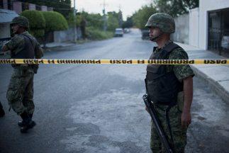 Despliegue militar en lucha contra la delincuencia organizada.