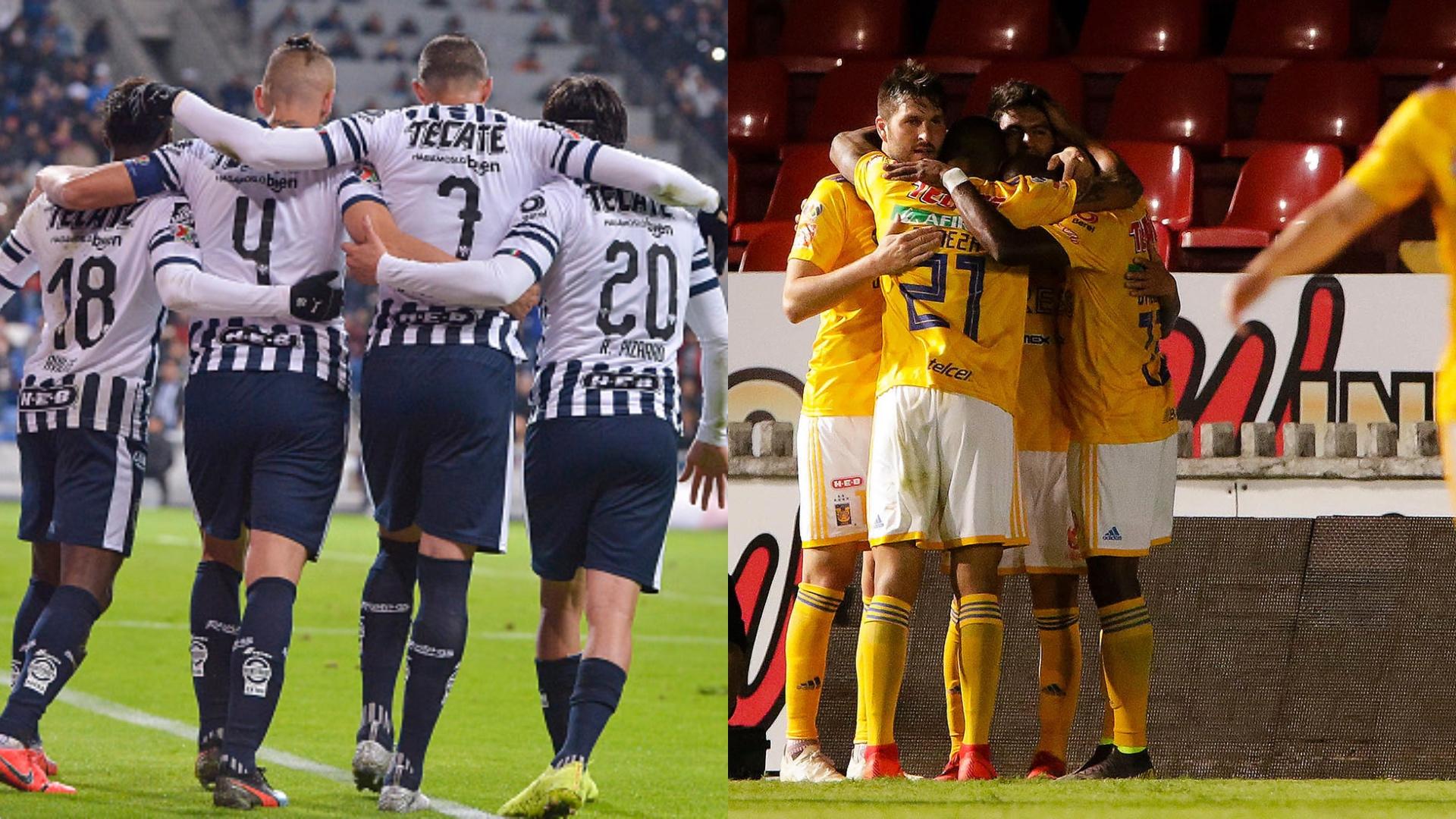 Image result for Monterrey y Tigres lideran la cima de la Tabla General en la Jornada 6 en la Liga MX