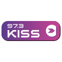 LOGO IMAGE KISS 97.3 FM SOCIAL FOLLOW