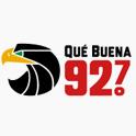 Logo Nueva York Qué Buena 92.7 FM