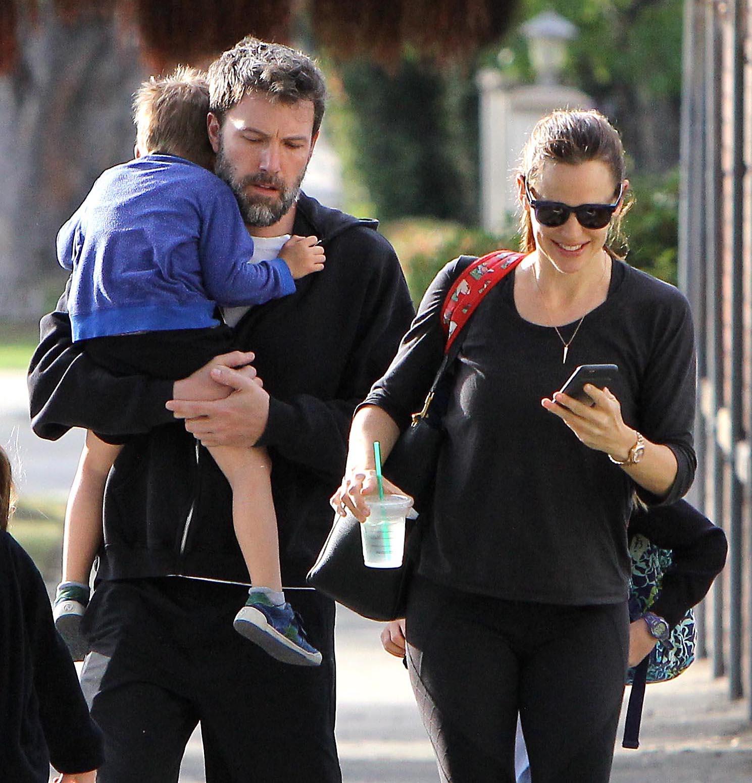 Jennifer Garner Y Ben Affleck Luchan Por Su Familia