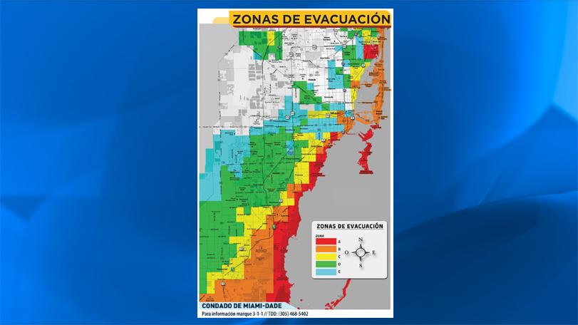 huracán irma: coloca tu zip code en este mapa de miami y