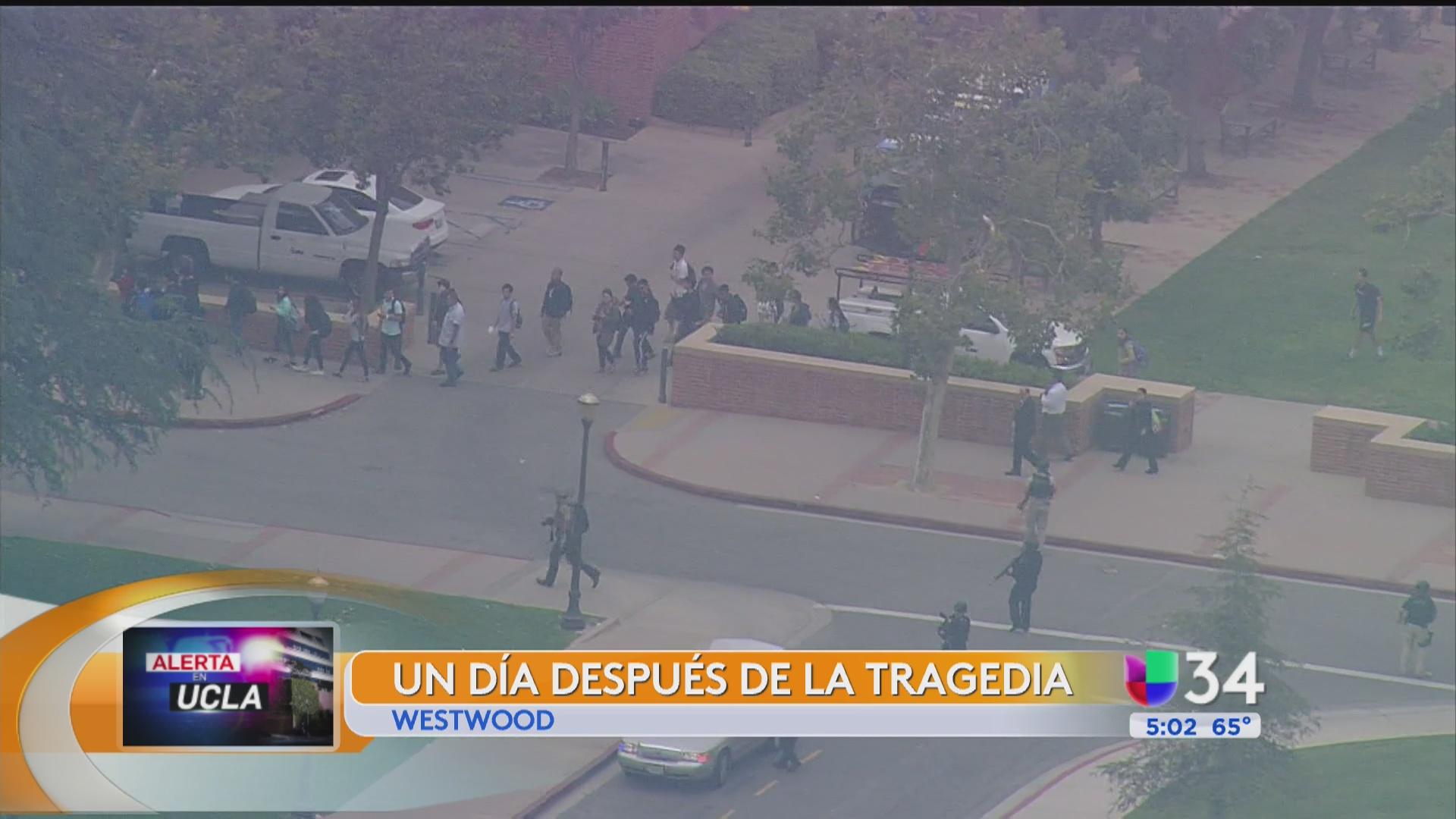 UCLA reanuda clases un día después de la tragedia - Univision 34 Los ...