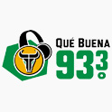Logo Houston Que buena 93.3