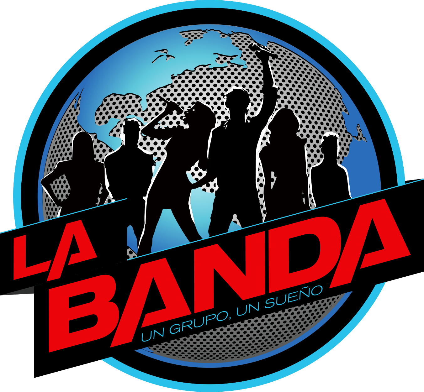 LA BANDA LOGO SOCIAL FOLLOW