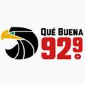 Logo san antonio Qué Buena 92.9
