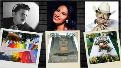 Las tumbas de los cantantes de regional mexicano, autenticas obras de arte