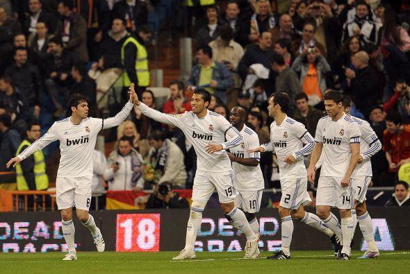 Los goles del Real Madrid volvieron a presentarse en la Liga española.