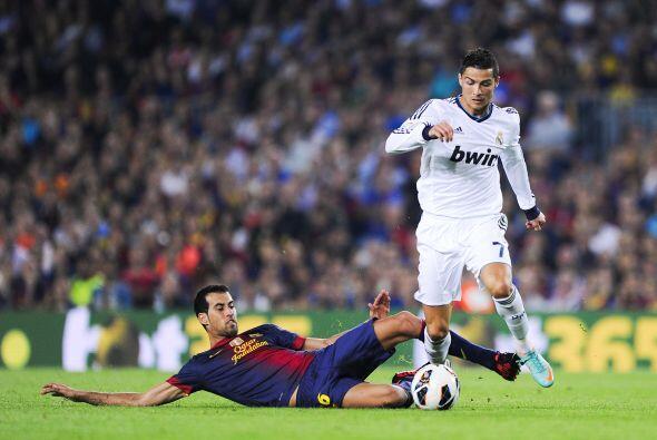 El portugués respondió del mismo modo, un doblete para su Real Madrid.