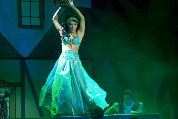 """Fue """"Esmeralda"""" en la obra de teatro infantil """"El Jorobado de Notre Dame""""."""