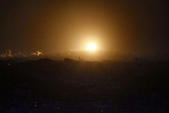 Vecinos de la Franja dijeron haber escuchado fuertes explosiones en ciud...