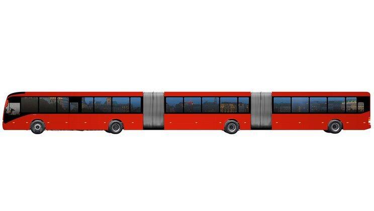 Volvo acaba de anunciar la creación del bus más largo del...