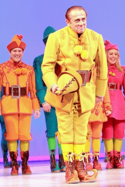 El musical Elf es una excelente opción si estas de visita en Nueva York...