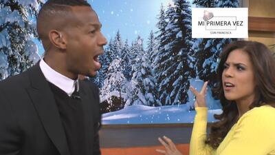 Mi primera vez: Oh, my God! Francisca dejó con la boca abierta a Marlon