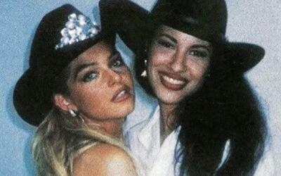 Itatí Cantoral y Selena en Dos mujeres un camino