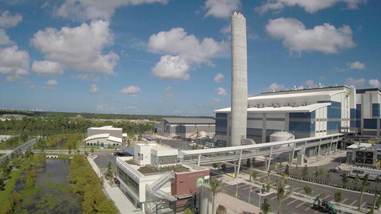 Florida's $672 million Palm Beach Renewable Energy Facility (REF#2)...