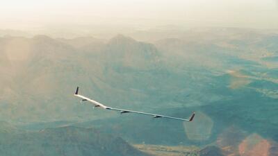 Las alas del Aquila, que transmitirá señal de internet hac...