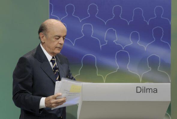 José Serra, ex gobernador de Sao Paulo, es el abanderado del Part...