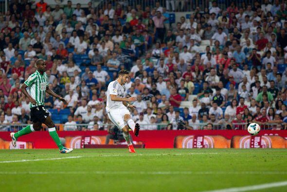Per el Madrid no tardó tanto en responder con el empate.