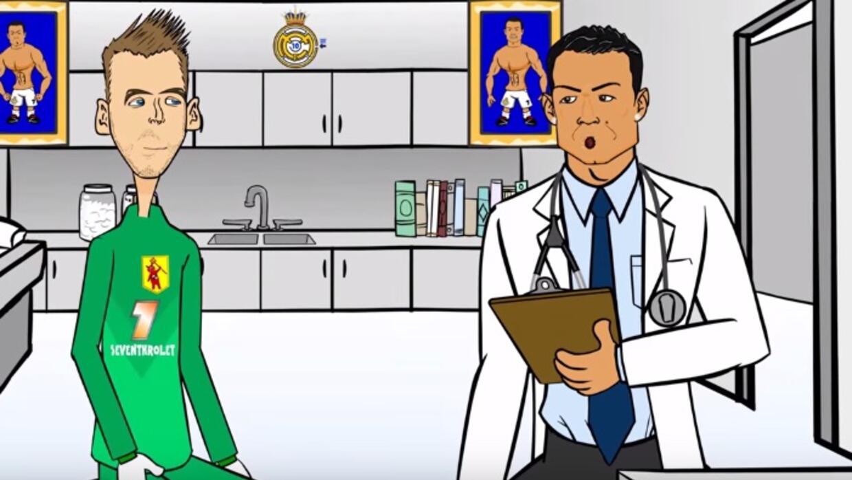 Crean parodia del la caída del fichaje de De Gea con Real Madrid.