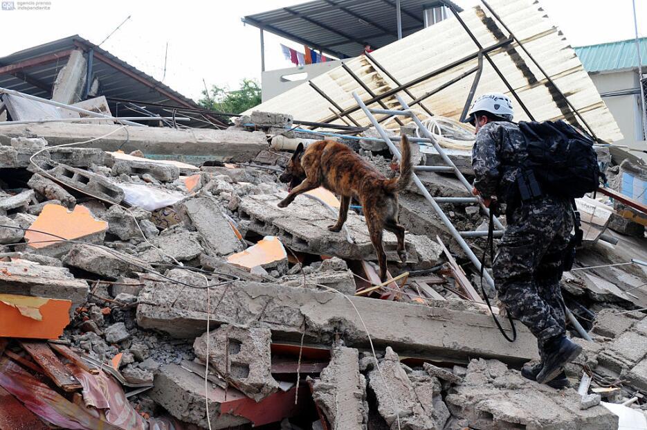 Las imágenes que nos deja el potente terremoto en Ecuador  ecuador12.jpg