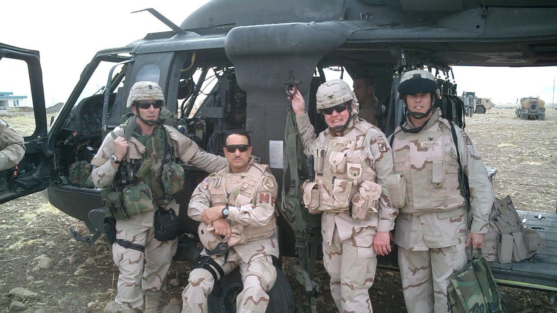 Coronel Claudio en Iraq
