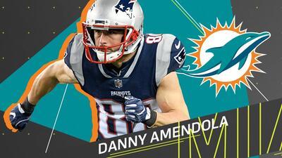 Danny Amendola se convertirá en nuevo jugador de los Miami Dolphins.