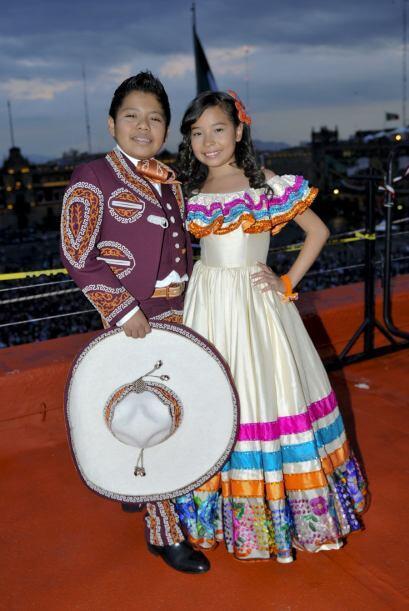 Miguel Ángel y Magaby se unieron a la fiesta mexicana