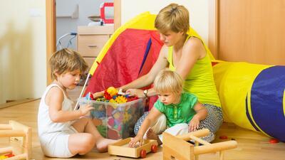 Ideas para ordenar el cuarto de los niños
