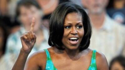 La Primera Dama de EEUU recordó que la situación de la economía estadou...
