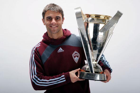 Claudio 'El Piojo' López ganó el Torneo de la MLS con Colo...