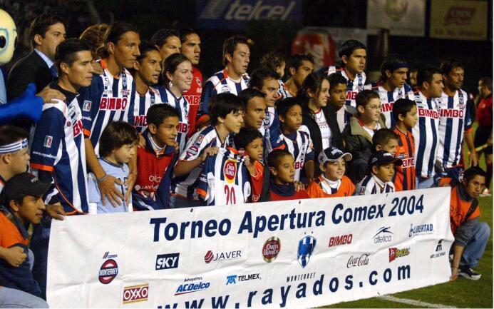 Tras conquistar el Clausura 2003, los Rayados llegaron a la final del Ap...