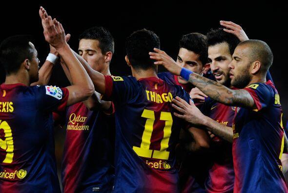 El Barcelona recibió al Mallorca con un equipo de suplentes, sin Messi n...