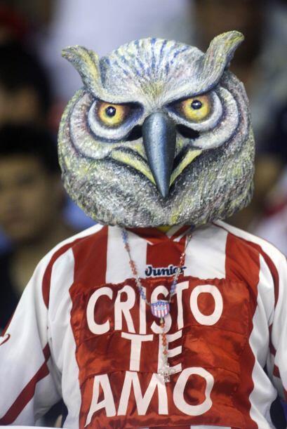 La lechuza se hizo presente en el estadio Roberto Meléndez de Barranquil...